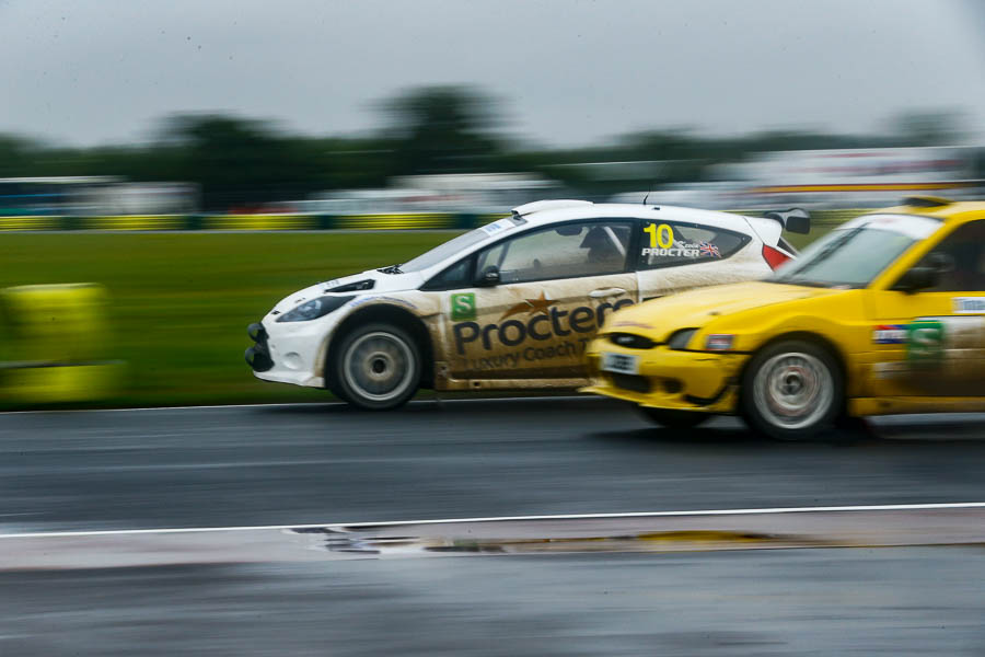 Torrential Rain at Croft for Round 6