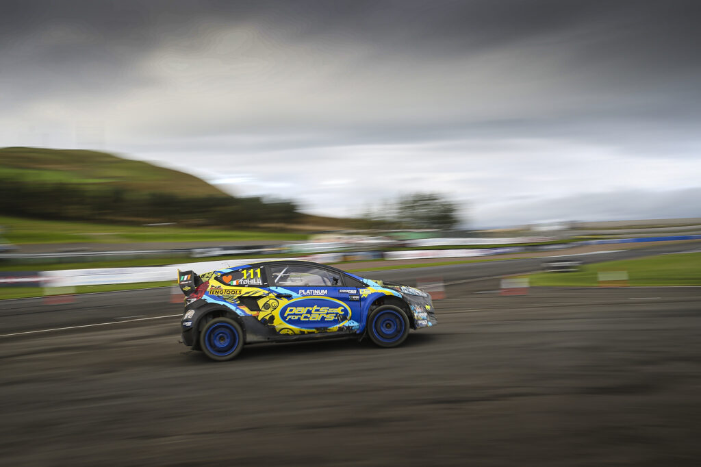 Rallycross at Knockhill