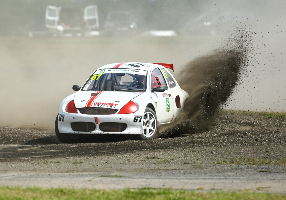 British RX Round 4 – Pembrey. Colin Anson secured his first ever Supercar Podium