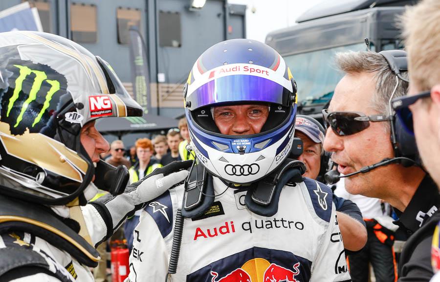 Mattias Ekstrom 2016 WRX Champion